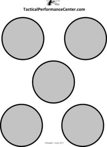 picture relating to Printable Sniper Targets named Plans 3 Gun Tactical