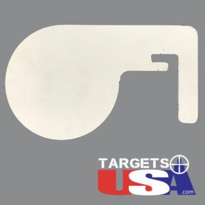 "LT Flipper Paddle - 1/4"" AR500"